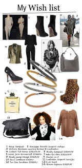 My Fashion Wish List