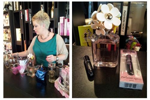 Parfumverstuiver vullen & Open dagen PR bureaus Amsterdam